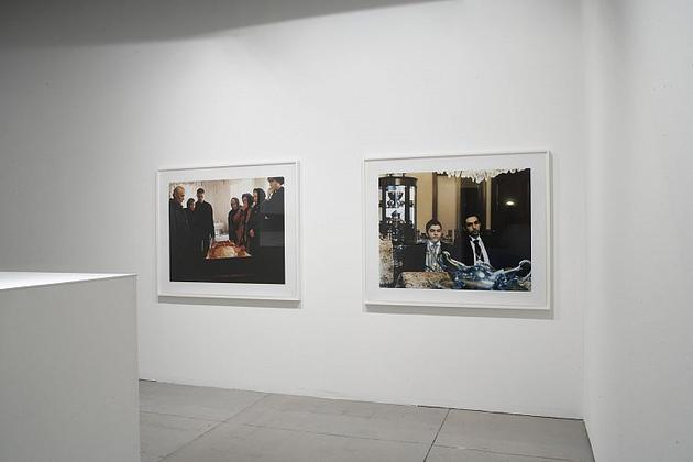 A Current History Installation view, 2007