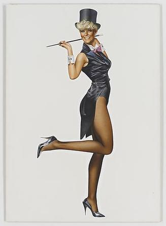 HAJIME SORAYAMA Untitled c1980s Acrylic on board 28 5/8 x 20 ¼ inches