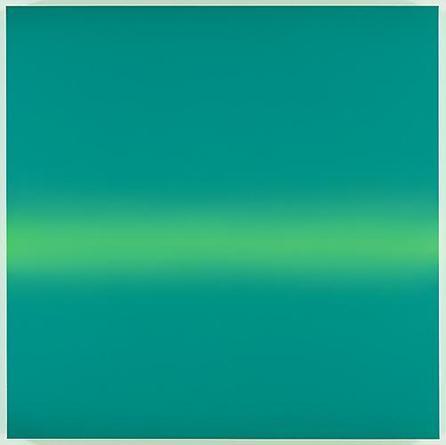 Horizon 2010 Acrylic on linen 67 x 67 x 3 inches
