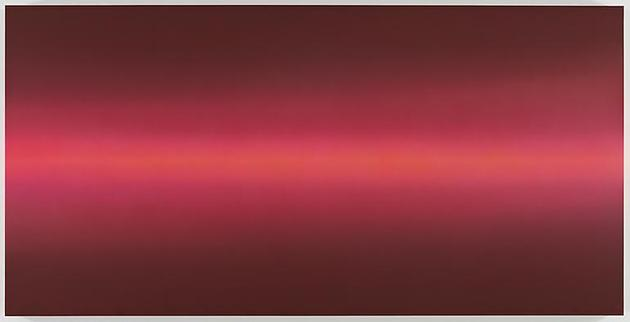 Horizon 2010 Acrylic on linen  49 1/4 x 98 1/2 x 3 inches