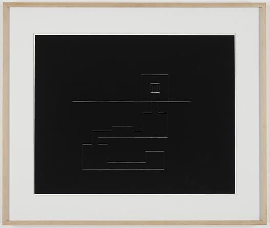 Prison with Underground Tunnel, 1981 Kodalith 17 ½ x 22 ¼ inches