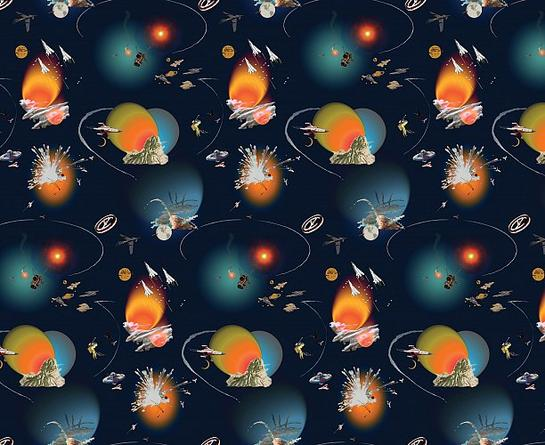 FRANCESCO SIMETI Astro, 2006 Printed wallpaper Dimensions variable Edition of 5