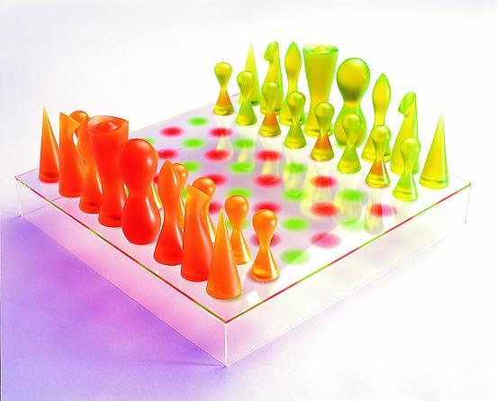 Chess set, Bozart