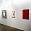 Works by Josef Albers, Peter Halley, Dove Bradshaw