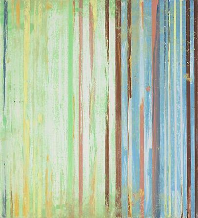 ATHTTSTW #4 2008 Enamel on wood 13 1/4 x 12 x 3/4 inches