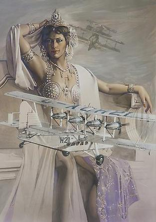 HAJIME SORAYAMA Untitled 2007 Acrylic on board 28 5/8 x 20 ¼ inches