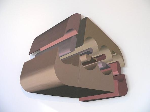 Deep (2), 2005-06 Acrylic on wood 52 1/2 x 64 1/2 x 2 inches