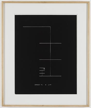 Voyage to a City, 1981 Kodalith 22 ¼ x 17 ½ inches