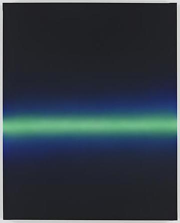 Horizon 2009 Acrylic on linen 63 3/4 x 51 x 2 inches