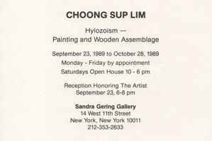 choong sup lim: hylozoism