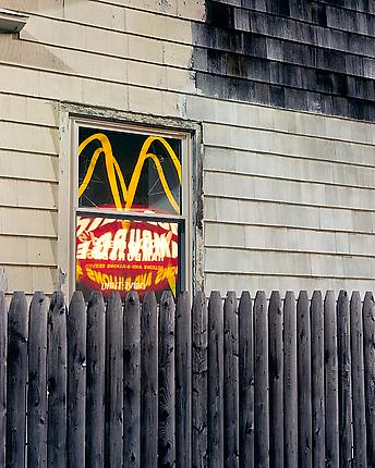 <i>McDonald's II (Retail)</i>, 2000 C-print 50 x 60 inches (127 x 152.4 cm)
