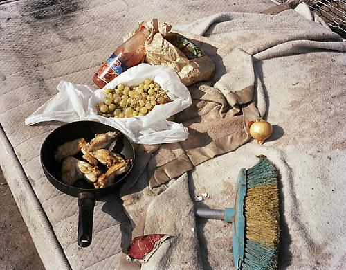 <i>Gypsy Meal (The New Antiquity)</i>, 2009 C-print 24 x 30 inches (61 x 76.2 cm)