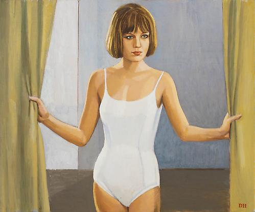 Duncan Hannah Catherine Spaak III, 2010 Oil on canvas 20 x 24 inches (50.8 x 61 cm)