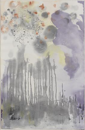 Untitled # 17, 2012 Monotype 60 x 39 3/8 inches (152.4 x 100 cm)