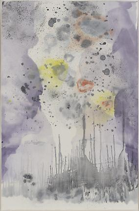 Untitled # 16, 2012 Monotype 60 1/2  x 39 3/8 inches (153.7 x 100 cm)