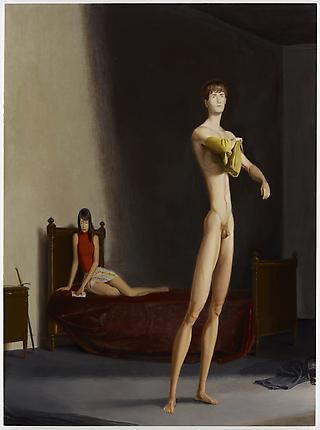 Jansson Stegner The Bedroom, 2012 Oil on canvas 92 x 68 inches (233.7 x 172.7 cm)