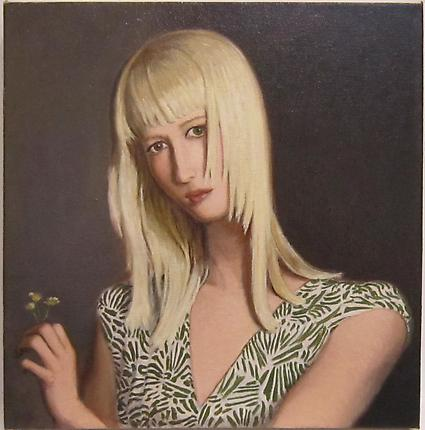 Jansson Stegner Katherine, 2012 Oil on canvas 19 x 18 inches (48.3 x 45.7 cm)