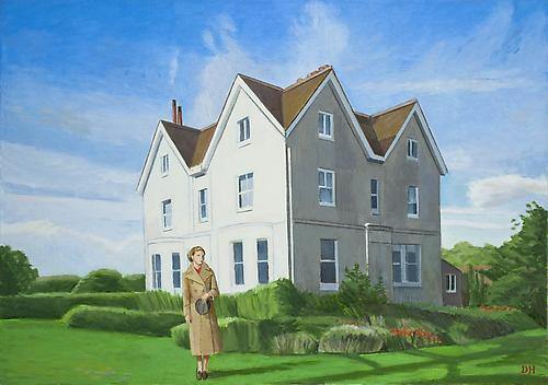 Duncan Hannah Misadventure, 2011 Oil on canvas 28 x 40 inches (71.1 x 101.6 cm)