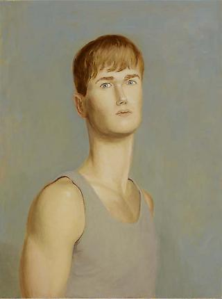 Jansson Stegner Randall, 2012 Oil on linen 24 x 18 inches (61 x 45.7 cm)