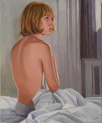 Duncan Hannah Regarding Rosemary, 2009 Oil on canvas 24 x 20 inches (61 x 50.8 cm)