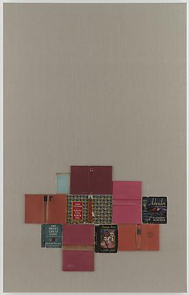 <i>The Sweet Cheat Gone</i>, 2011 Paper cover and hardcover books on linen 86 x 55 inches (218.4 x 139.7 cm)