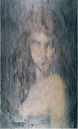 <i>Study of a Head of a Woman (Permanent Collection)</i>, 2003 C-print 23 3/4 x 14 1/2 inches (60.3 x 36.8 cm)