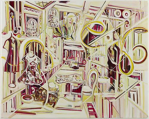 <i>On Display</i>, 2010 Oil on canvas 47 1/2 x 59 inches (120.7 x 149.9 cm) Signed, titled and dated verso