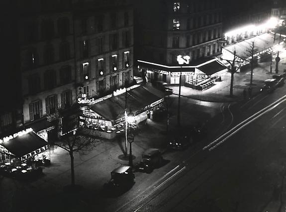 Brassaï, Les Cafes de Montparnasse, c. 1932