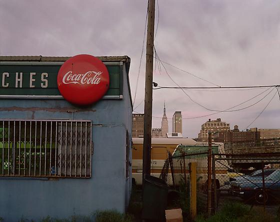 Joel Meyerowitz Empire State Series, Diner on 12th Avenue, New York City, 1978