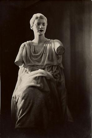 """Lee Miller in """"Le Sang d'un Poète"""", 1930"""