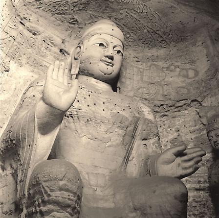 Buddha, Yungang Caves, 2001