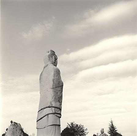Statue, Sacred Path, Qianling Tomb, 2001