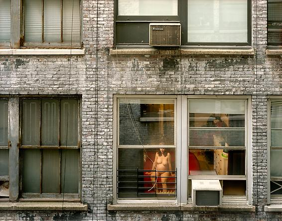 Out My Window, Chelsea, West 28th Street, Expecting, 2010