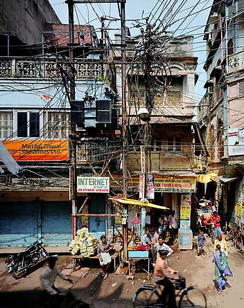 Street Scene, Varanasi, India, 2007
