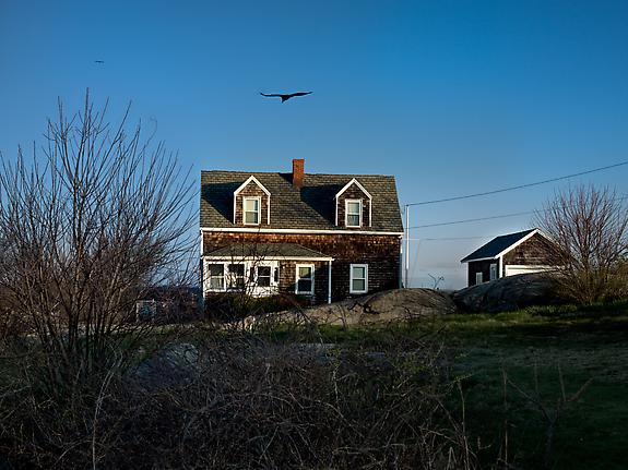 Houses of Squam Light, Gloucester, 2012, from Hopper's Houses