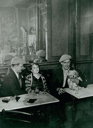 Cafe Scene, c. 1932