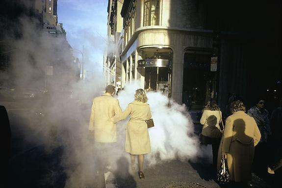 Joel Meyerowitz Camel Coats, 5th Avenue, New York City, 1975