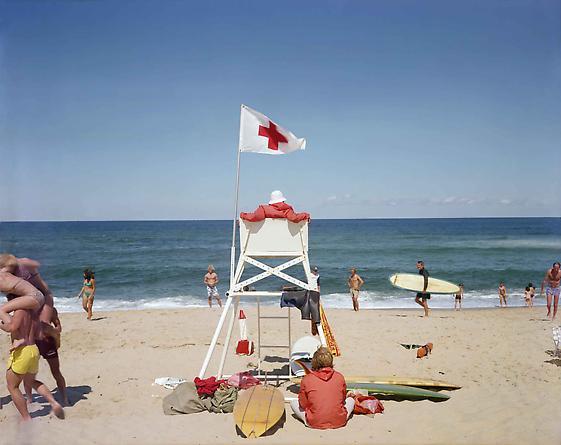 Joel Meyerowitz  Ballston Beach, Truro, Cape Cod, 1976