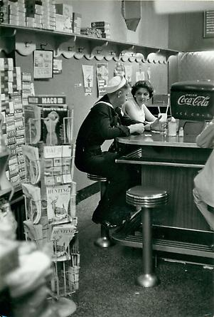 Soda Fountain, USA, c. 1957