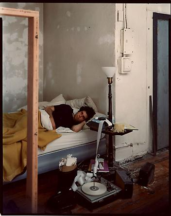 Stephen Shore Self-portrait, New York, New York, March 20, 1976