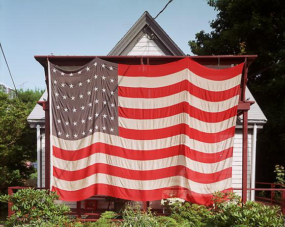Flag, Provincetown, July 4th, 1983