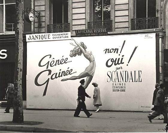 Scandale, Paris, 1947