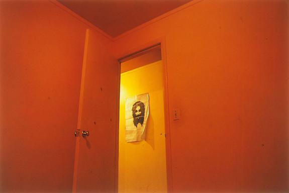 William Eggleston Untitled (poster in hallway), Memphis, TN, 1970 [From Dust Bells 2]