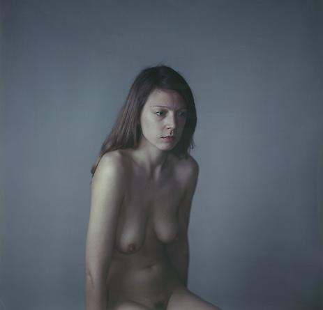 Richard Learoyd Carla Nude, Square, 2010