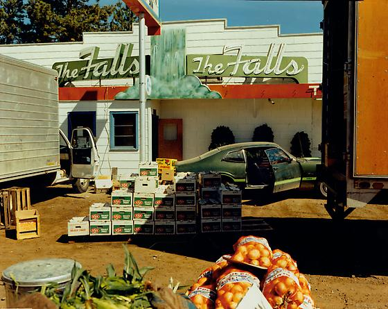 Stephen Shore  US 10, Post Falls, Idaho, August 25, 1974