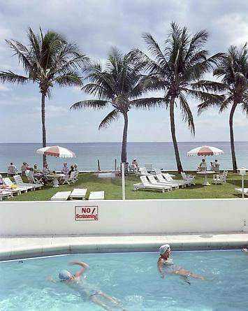 Joel Meyerowitz No Screaming! Fort Lauderdale, Florida, 1977