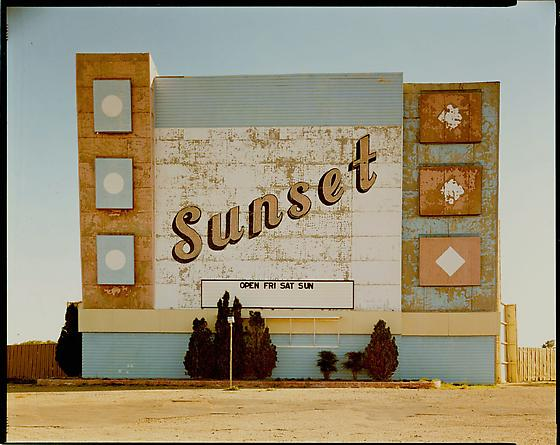 Stephen Shore West 9th Avenue, Amarillo, Texas, October 2, 1974