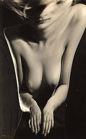 Andre Kertesz, Nude Distortion No. 52, Paris, 1933