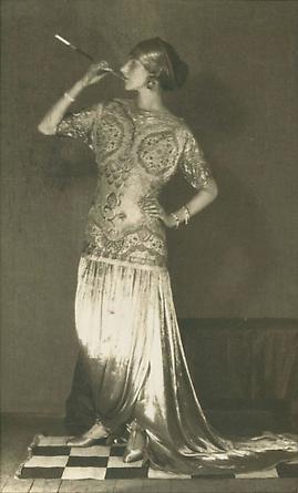 Peggy Guggenheim, Paris, 1924