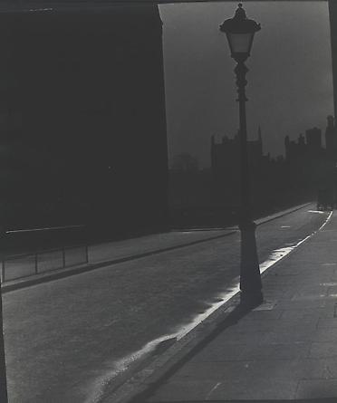 Blackout in Bloomsbury, March 1942